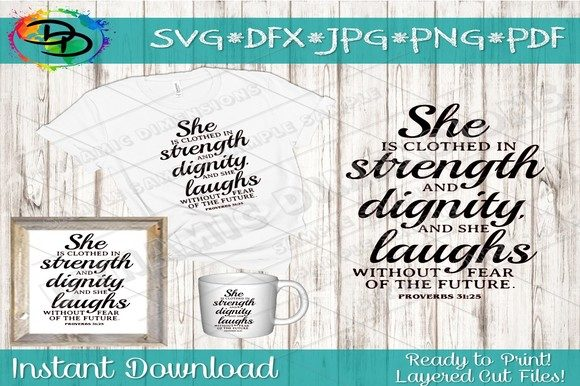 Download Free Christian Quote Svg Graphic By Dynamicdimensions Creative Fabrica for Cricut Explore, Silhouette and other cutting machines.