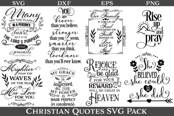 Christian Quotes Bundle