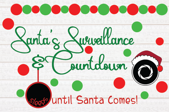 Download Free Christmas Countdown Svg Graphic By Kayla Griffin Creative Fabrica for Cricut Explore, Silhouette and other cutting machines.