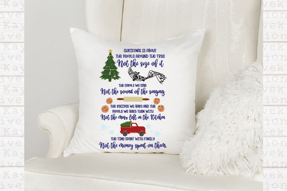 Christmas Is About Svg Graphic By Kayla Griffin Creative Fabrica