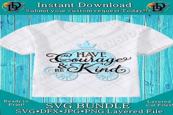 Print on Demand: Cinderella SVG Graphic Crafts By dynamicdimensions