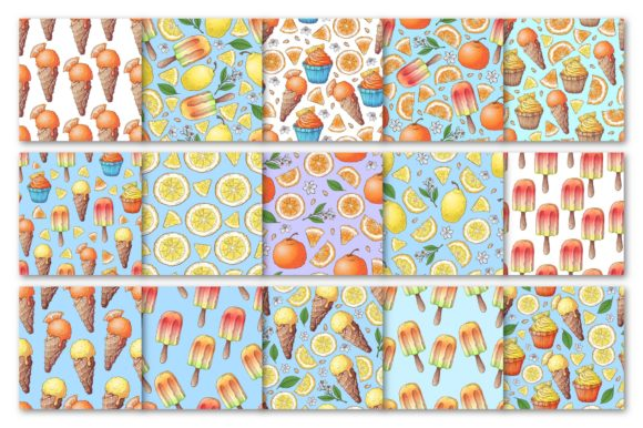 Citrus Sweets Graphic By nicjulia Image 3