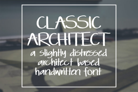 Print on Demand: Classic Architect Sans Serif Font By SavoringSurprises