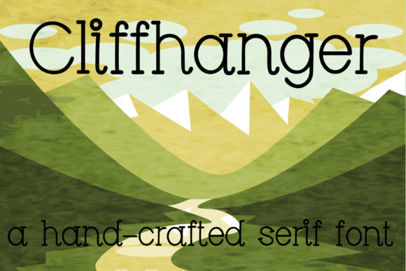 Print on Demand: Cliffhanger Serif Font By Illustration Ink