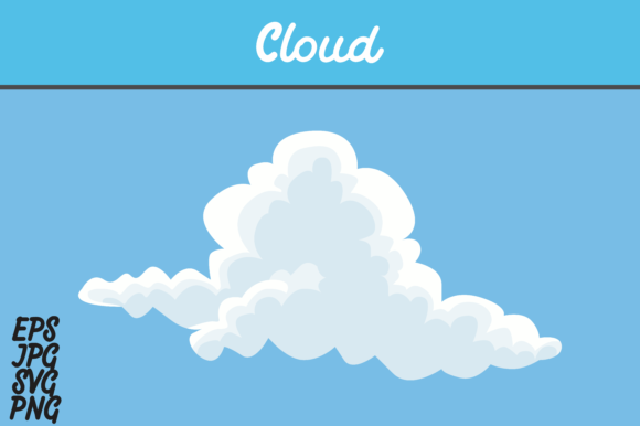 Download Free Cloud Svg Vector Image Graphic By Arief Sapta Adjie Creative Fabrica for Cricut Explore, Silhouette and other cutting machines.