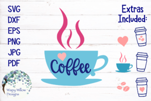 Download Free Coffee Mug Svg Graphic By Wispywillowdesigns Creative Fabrica for Cricut Explore, Silhouette and other cutting machines.