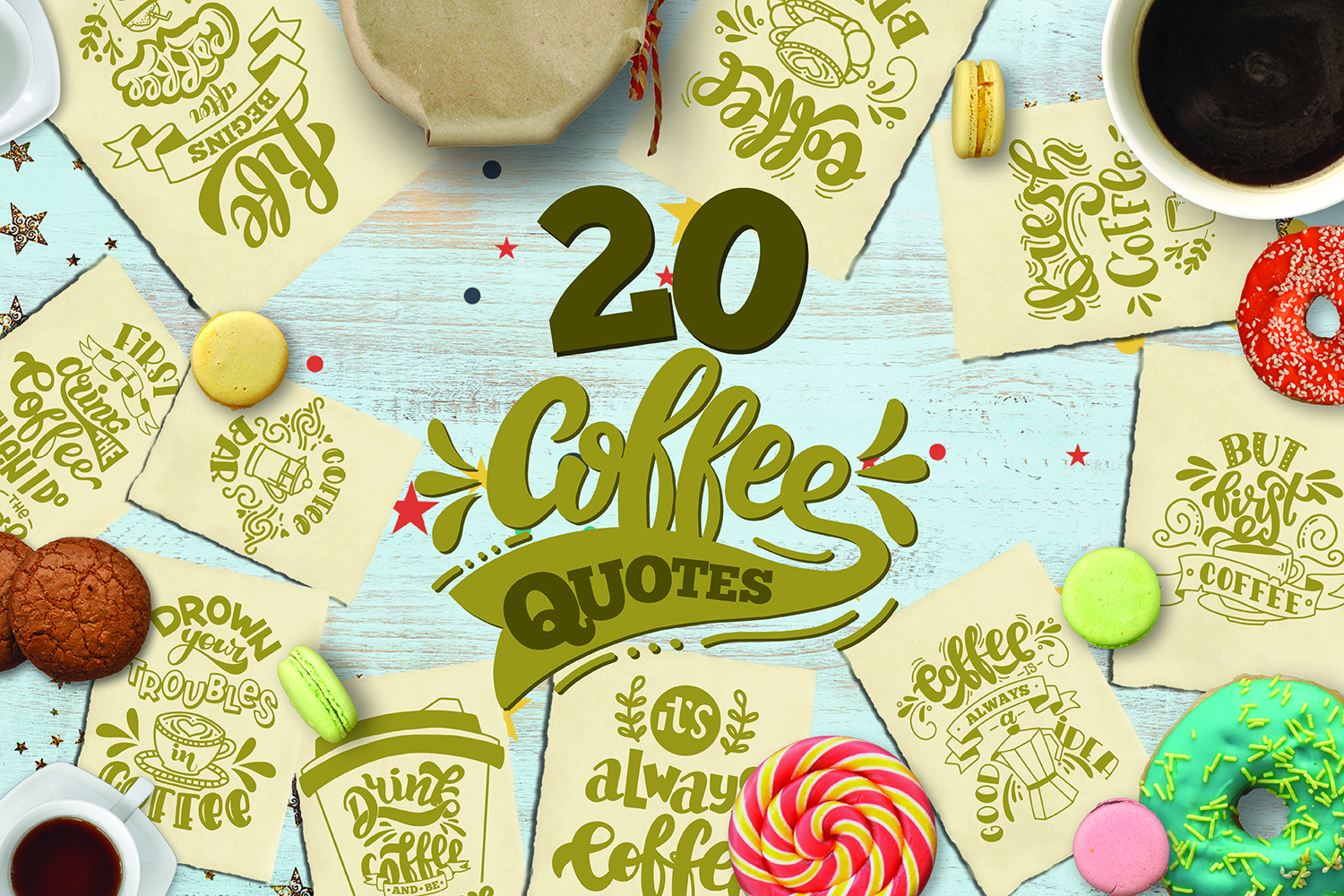 Download Free Coffee Bundle Graphic By Svg Story Creative Fabrica for Cricut Explore, Silhouette and other cutting machines.