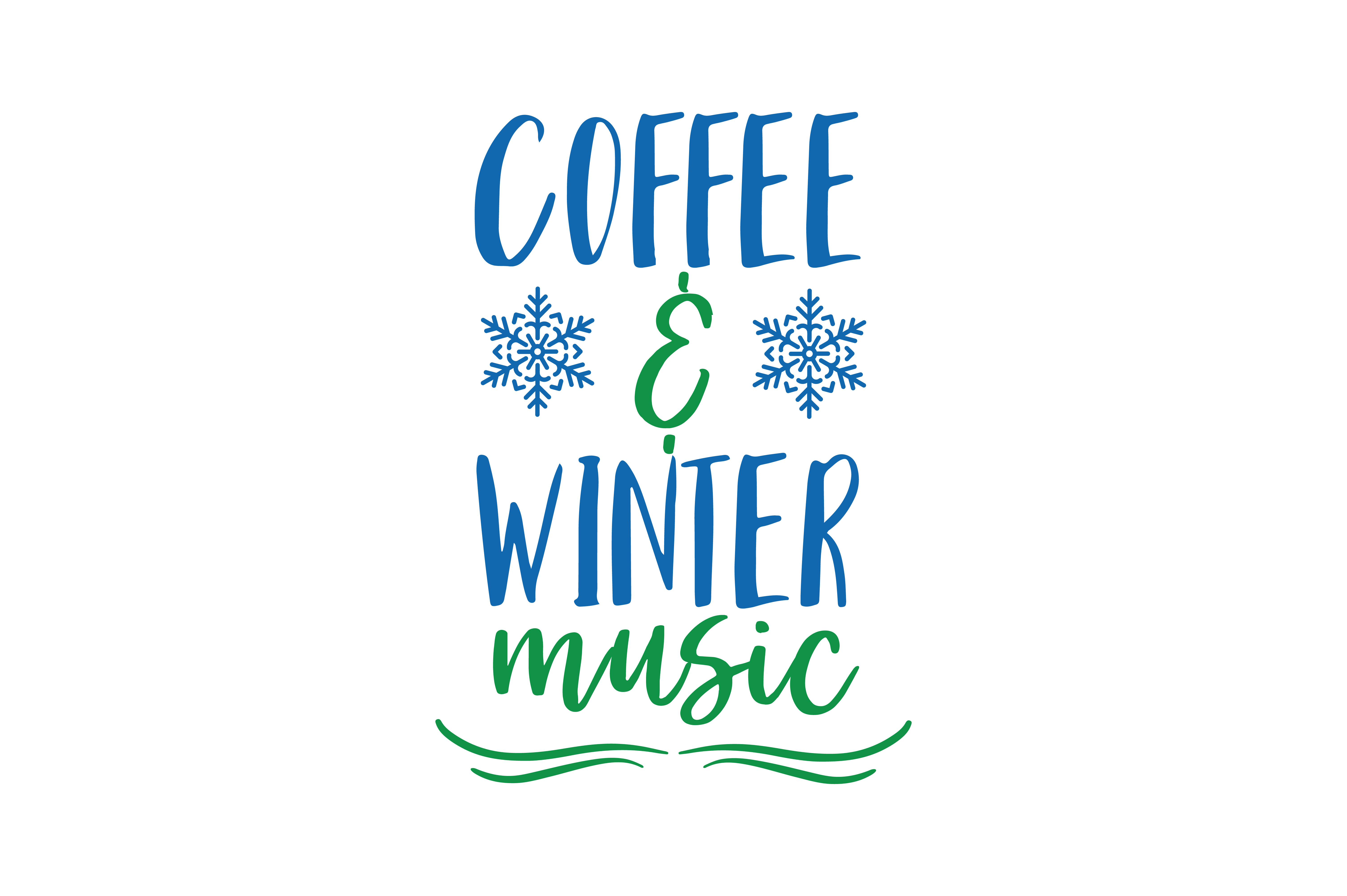 Download Free Coffee And Christmas Music Quote Svg Cut Graphic By Thelucky for Cricut Explore, Silhouette and other cutting machines.
