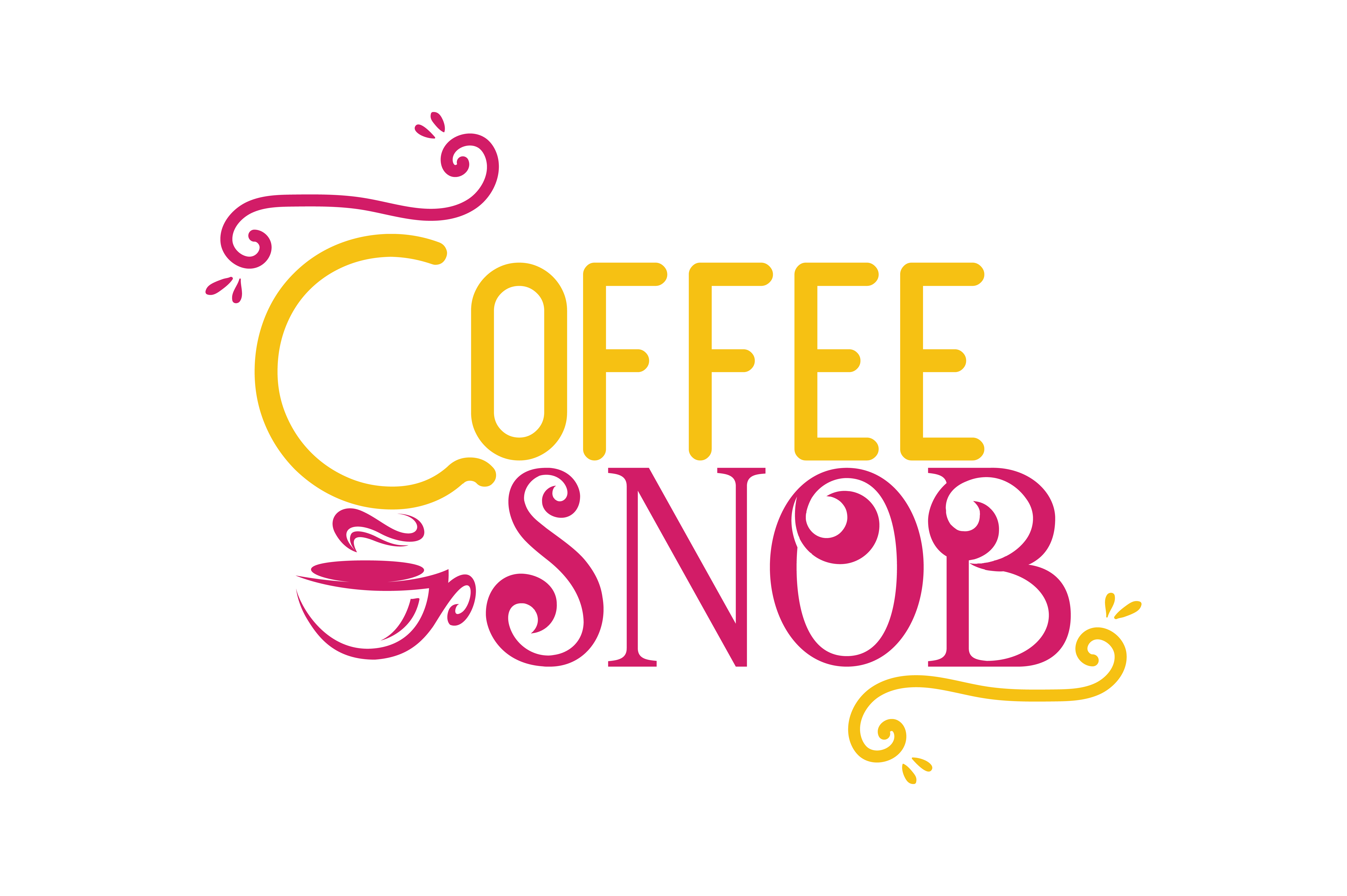 Download Free Coffee Snob Quote Svg Cut Grafik Von Thelucky Creative Fabrica for Cricut Explore, Silhouette and other cutting machines.
