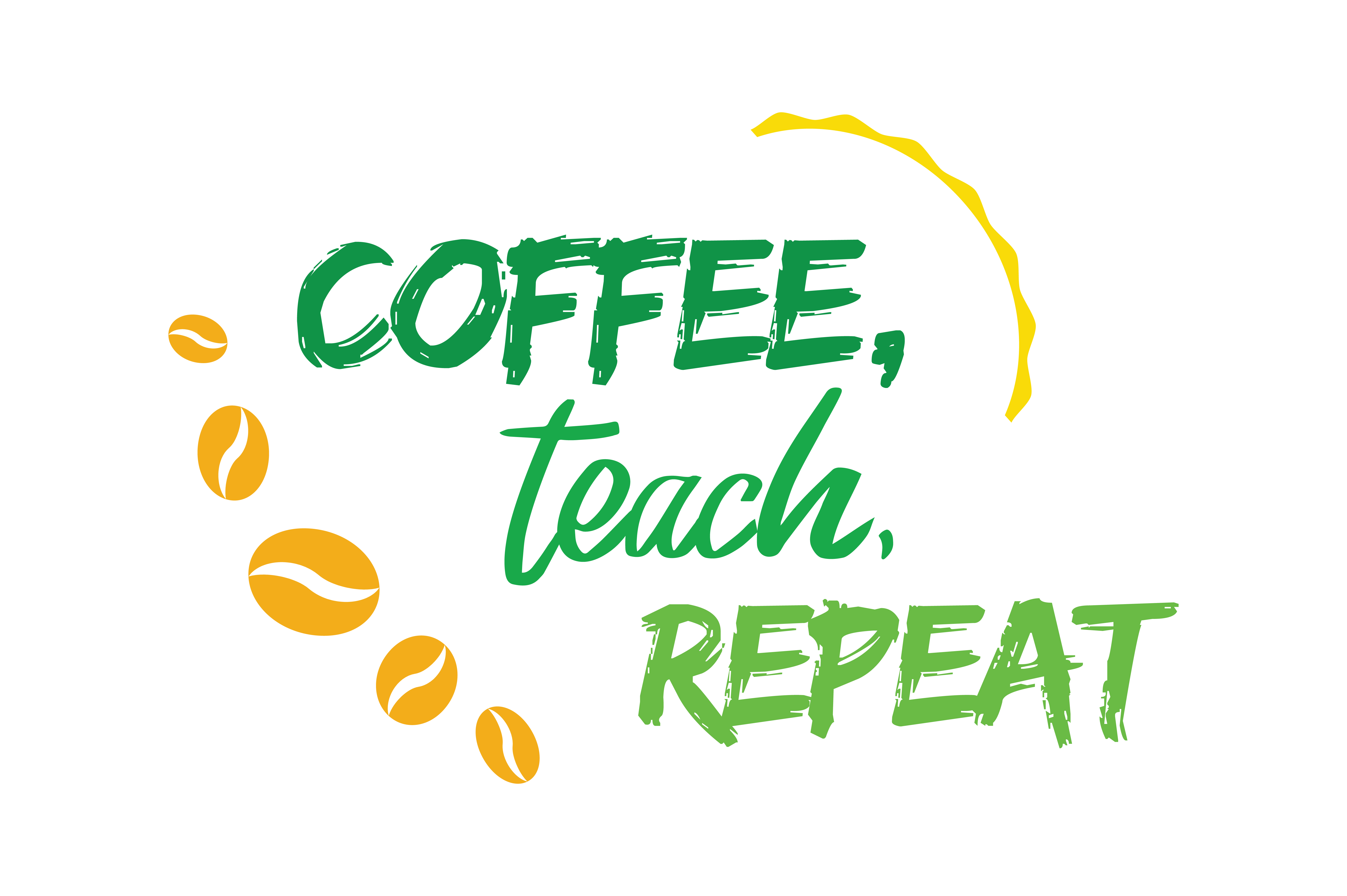 Download Free Coffee Teach Repeat Quote Svg Cut Graphic By Thelucky Creative SVG Cut Files