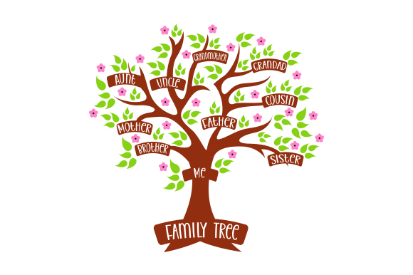 Download Free Colorful Family Tree Svg Cut File By Creative Fabrica Crafts for Cricut Explore, Silhouette and other cutting machines.