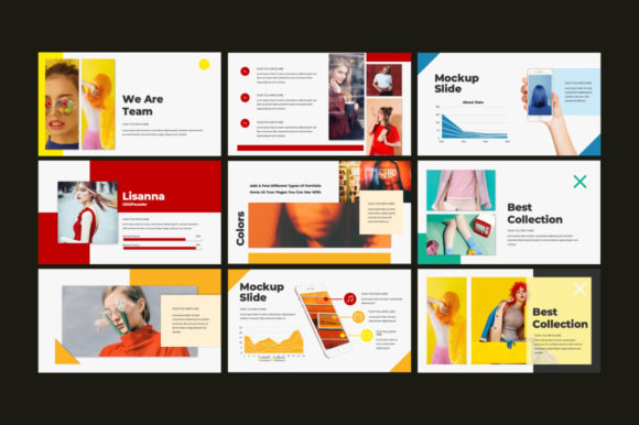 Colors Powerpoint Template