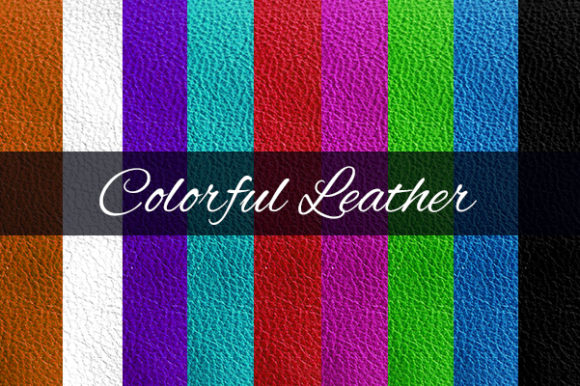Colourful Leather Texture Background Graphic By Creative Market