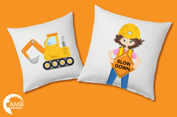 Construction Cliparts Graphic Illustrations By AMBillustrations - Image 3