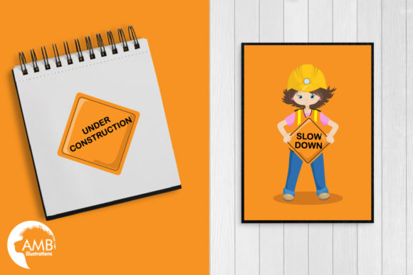 Construction Cliparts Graphic Illustrations By AMBillustrations - Image 5