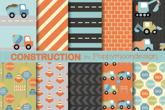 Download Free Construction Paper Graphic By Poppymoondesign Creative Fabrica for Cricut Explore, Silhouette and other cutting machines.