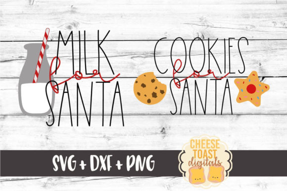 Download Free Cookies For Santa Milk For Santa Christmas Svg Graphic By for Cricut Explore, Silhouette and other cutting machines.