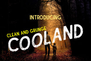 Cooland Font By da_only_aan