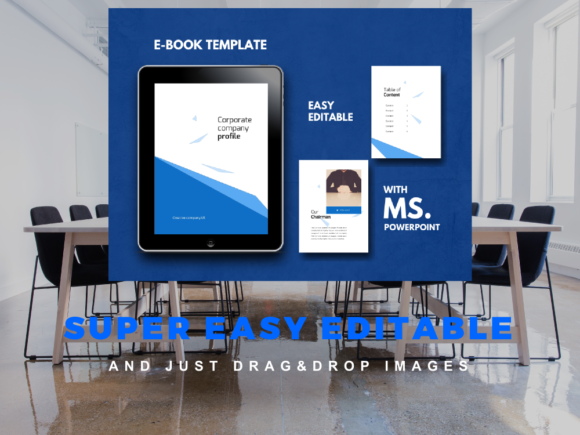 Print on Demand: Coorporate Company Ebook Powerpoint Template Graphic Presentation Templates By rivatxfz - Image 10