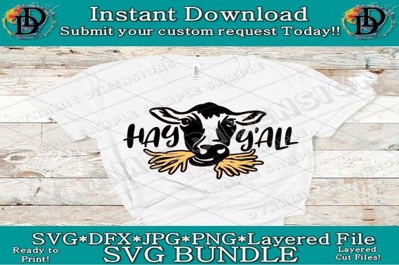 Print on Demand: Cow Clipart Graphic Crafts By dynamicdimensions
