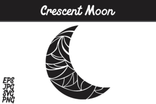 Download Free Crescent Moon Svg Vector Image Graphic By Arief Sapta Adjie for Cricut Explore, Silhouette and other cutting machines.