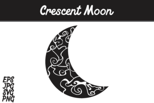 Download Free Crescent Moon Svg Vector Image Graphic By Arief Sapta Adjie SVG Cut Files