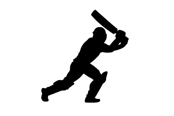 Download Free Cricket Player Svg Cut File By Creative Fabrica Crafts for Cricut Explore, Silhouette and other cutting machines.