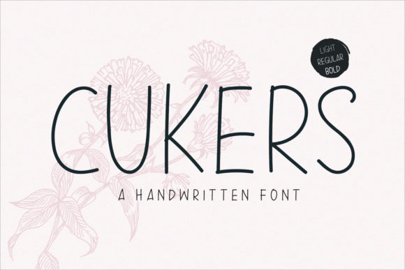 Print on Demand: Cukers Sans Serif Fuente Por Sameeh Media