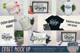 Custom Favorites Craft Mock Up Bundle Graphic By burgessfamilycraft