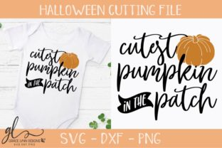 Download Free Cutest Pumpkin In The Patch Graphic By Gracelynndesigns for Cricut Explore, Silhouette and other cutting machines.