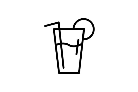 Download Free Tall Drink Icon Graphic By Arus Creative Fabrica SVG Cut Files