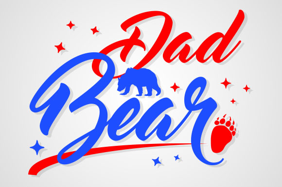 Download Free Dad Bear Grafico Por Zaibbb Creative Fabrica for Cricut Explore, Silhouette and other cutting machines.