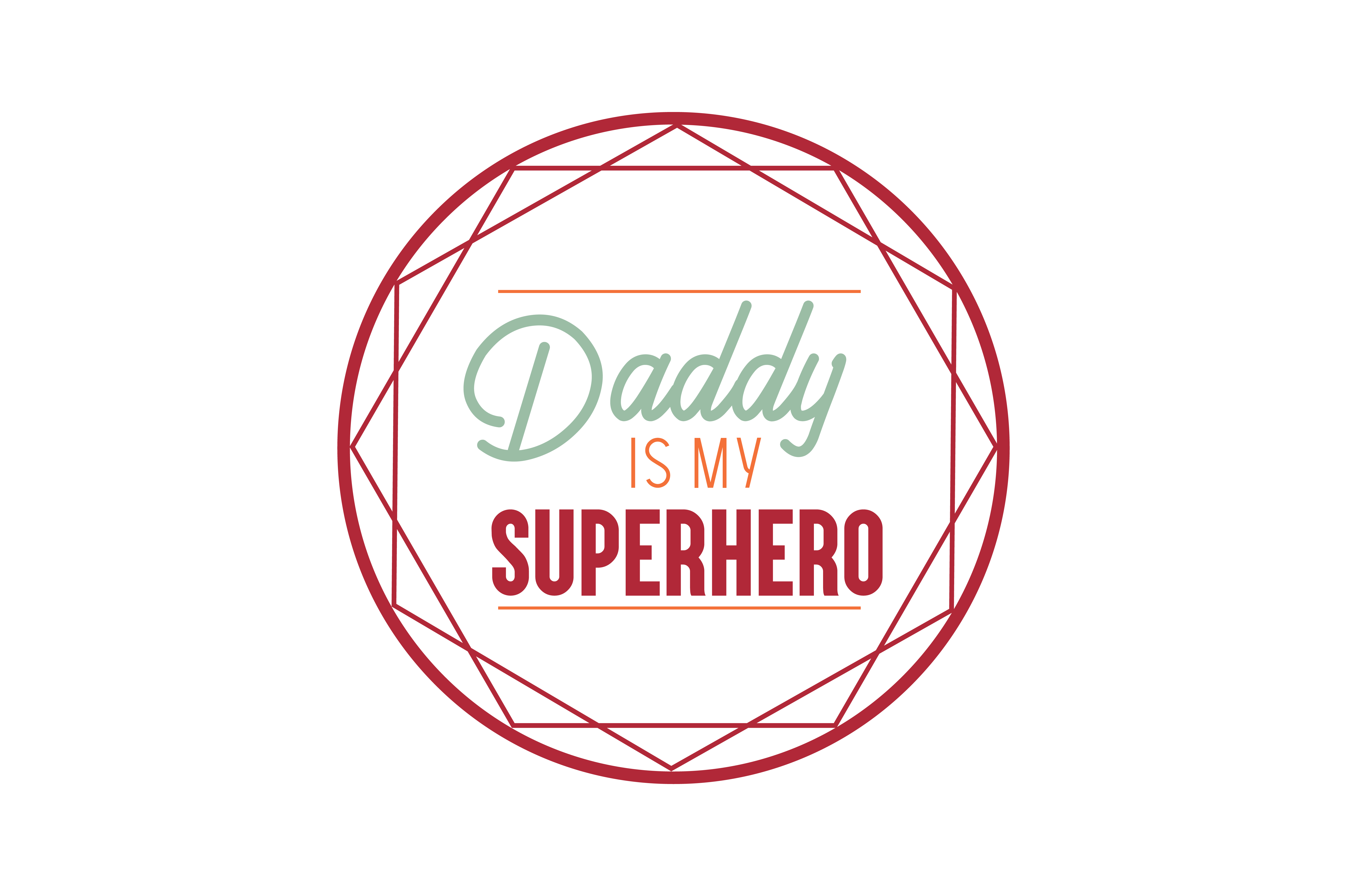 Download Free Daddy Is My Superhero Quote Svg Cut Graphic By Thelucky for Cricut Explore, Silhouette and other cutting machines.