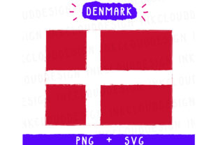 Denmark Europe Graphic By Inkclouddesign