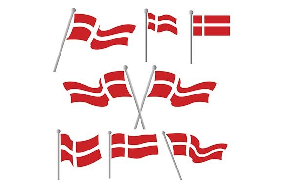 Download Free Denmark Flag Graphic By Rohmar Creative Fabrica for Cricut Explore, Silhouette and other cutting machines.