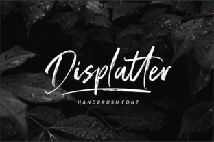 Displatter Font By Sronstudio