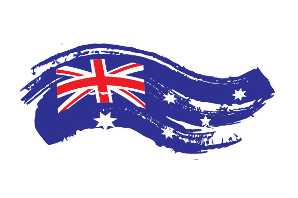 Download Free Distressed Australian Flag Svg Cut File By Creative Fabrica for Cricut Explore, Silhouette and other cutting machines.