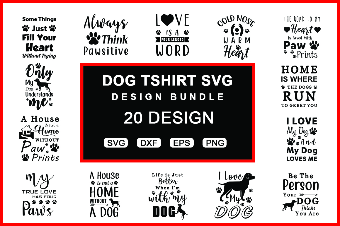 Dog Quotes T Shirt Bundle Graphic By Creativesvg Creative Fabrica