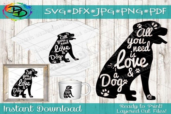 Download Free Dog Graphic By Dynamicdimensions Creative Fabrica for Cricut Explore, Silhouette and other cutting machines.