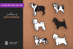 Dog Shapes SVG Graphic By duka