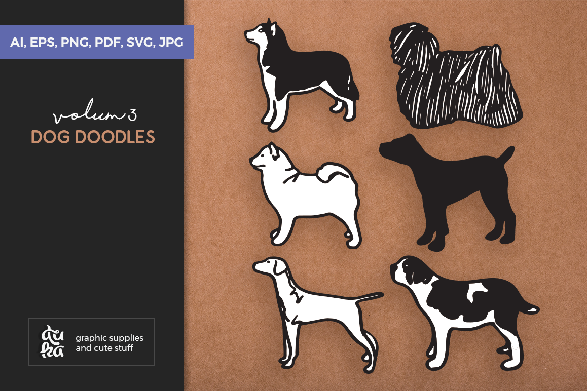 Download Free Dog Shapes Svg Graphic By Duka Creative Fabrica for Cricut Explore, Silhouette and other cutting machines.