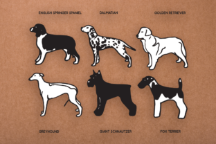 Download Free Dog Shapes Svg Graphic By Duka Creative Fabrica SVG Cut Files