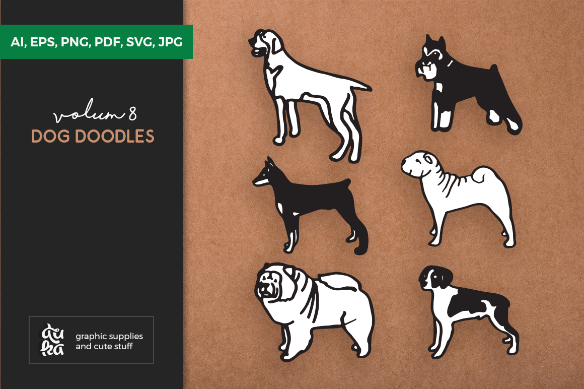 Download Free Dog Shapes Svg Grafico Por Duka Creative Fabrica for Cricut Explore, Silhouette and other cutting machines.