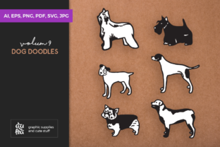 Dog Shapes Graphic By duka