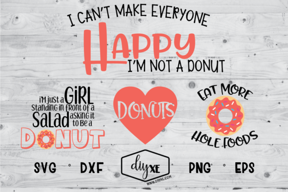Download Free Donut Lover Bundle Graphic By Sheryl Holst Creative Fabrica for Cricut Explore, Silhouette and other cutting machines.