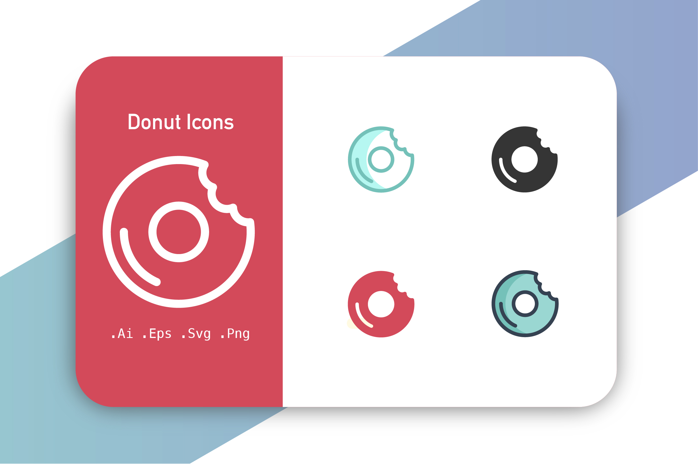 Download Free Donuts Icon Graphic By Hellopixelzstudio Creative Fabrica for Cricut Explore, Silhouette and other cutting machines.