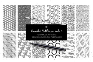 Doodle Patterns Graphic By webvilla
