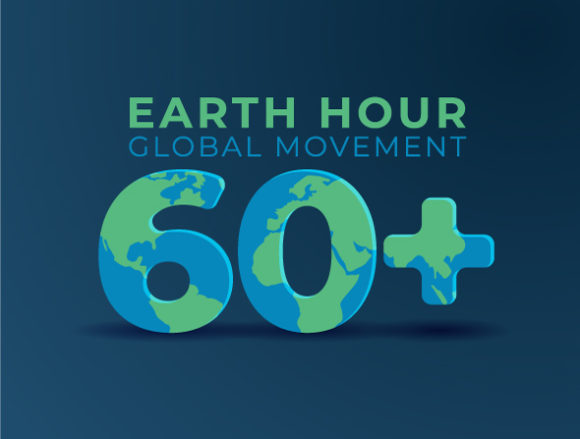 Download Free Earth Hour Day Background Graphic By Rawtwo Std Creative Fabrica for Cricut Explore, Silhouette and other cutting machines.