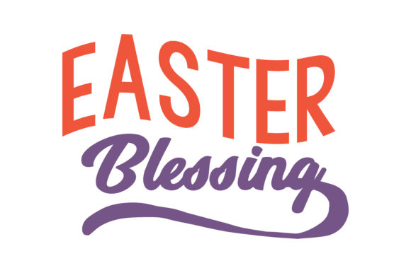 Print on Demand: Easter Blessing Quote SVG Cut Graphic Crafts By TheLucky
