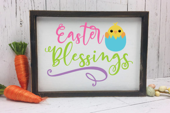 Download Free Easter Blessings Svg Graphic By Oldmarketdesigns Creative Fabrica SVG Cut Files